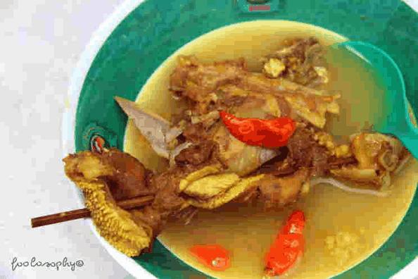 Aneka masakan daging kambing tengkleng solo