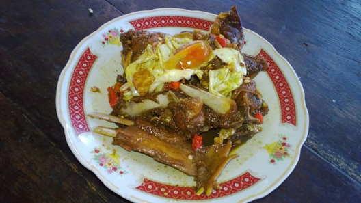 Masakan dari daging khas warung dlidir solo