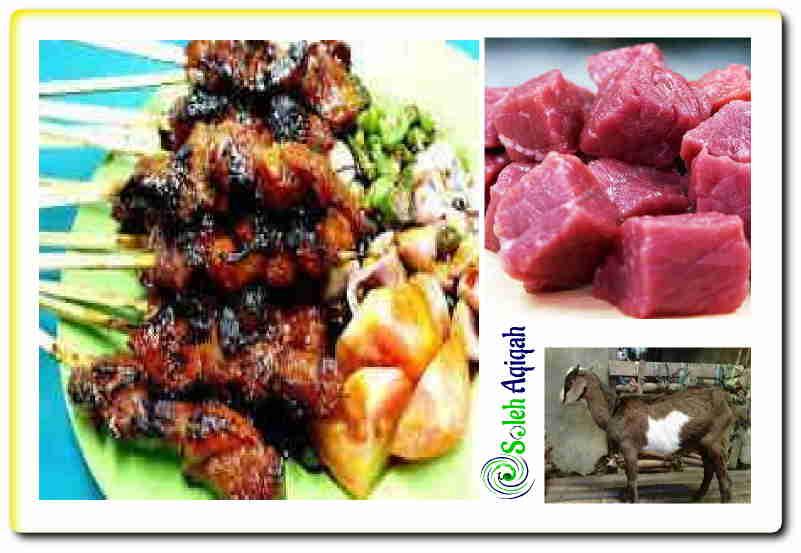 Menghilangkan bau daging kambing secara lengkap